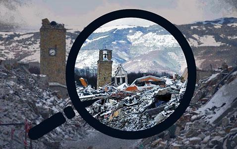 I decreti del Ministero dell'Interno in favore di Comuni colpiti dai sisma